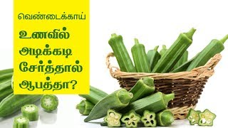 Benefits of Ladies finger (Okra) - Tamil Health Tips
