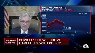 Fed chair Jerome Powell: Drop in Treasury bill rates due to high demand