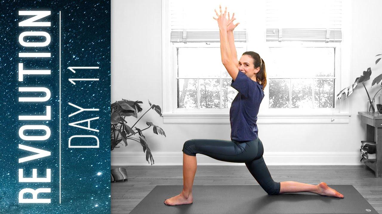 Revolution Day 11 Align Practice Yoga With Adriene