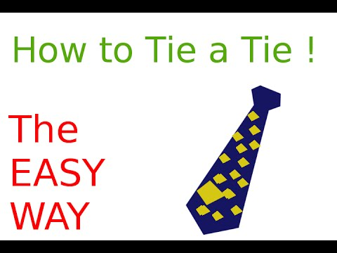 How to tie a tie the easy way hindi youtube how to tie a tie the easy way hindi ccuart Image collections