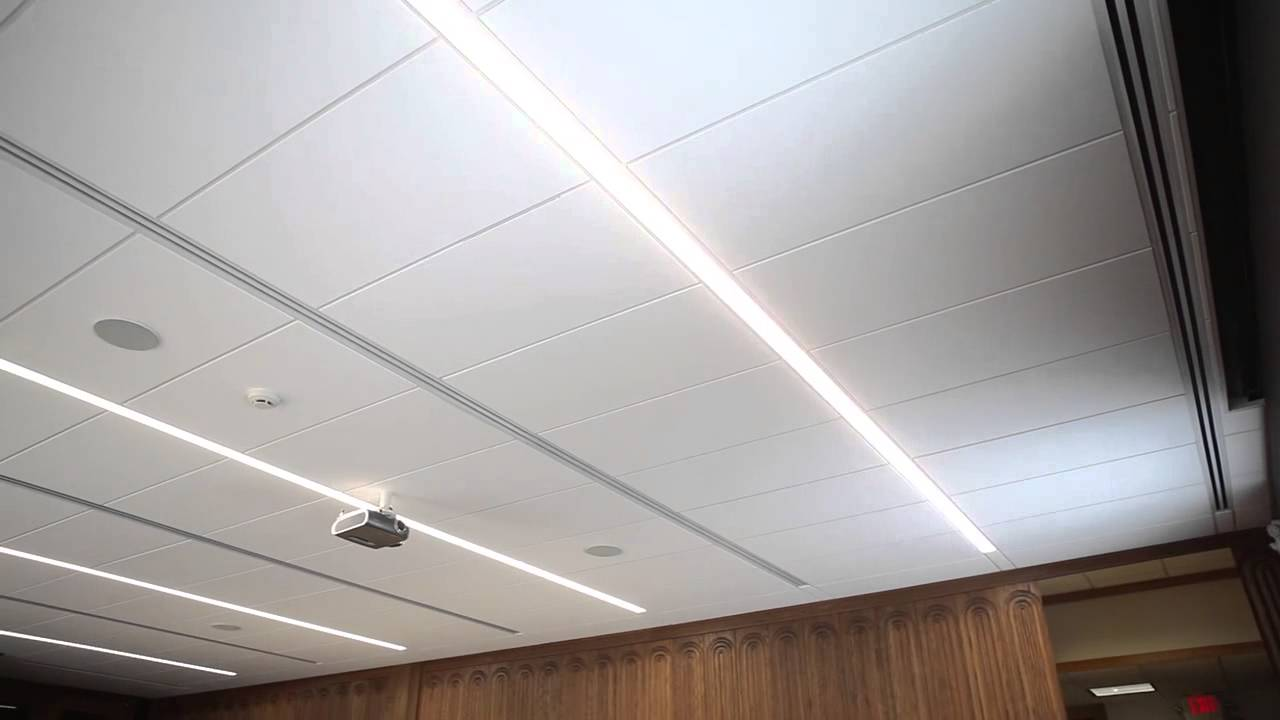 Usg Logix Integrated Ceiling System Youtube