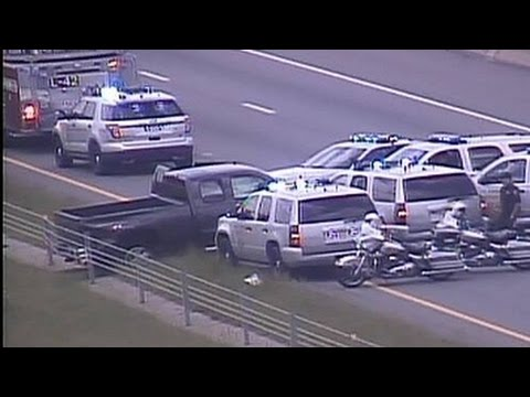Police Chase Kidnapper and Robbery Suspect 2017 (8 March)