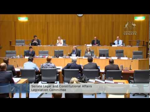 Senator Ludlam asks questions of the Australian Federal Police