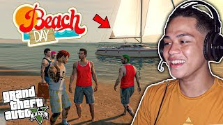 first-beach-outing-ng-billionaire-gang-sa-gta-5-online-surprise