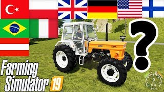 Farming Simulator 19 : WHICH TRACTOR ? WHICH COUNTRY ? | Guess Time !!!