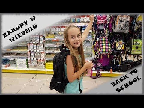 BACK TO SCHOOL  2018 #1 ♥ VLOG ZAKUPOWY♥ SCHOPING ♥ PRZYBORY SZKOLNE