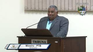 29ª Sessão Ordinária - Vereador Mineiro