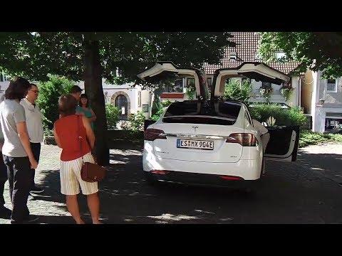 "Mitfahren im Model X ""Pegasus"" am 5.8.2017 (Doku)"