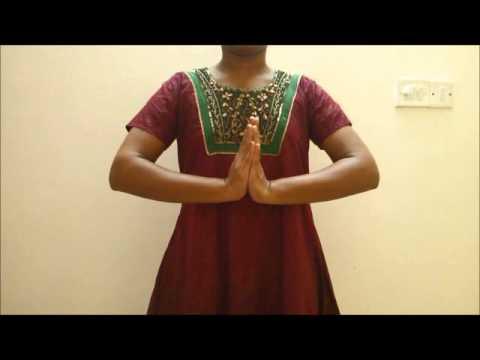 Learn Hand Gestures (Mudras) in Bharatanatyam