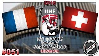 EISHOCKEY WELTMEISTERSCHAFT 2018 [Deutsch/German] #051 - Schweiz - Frankreich ★ IIHF 2018