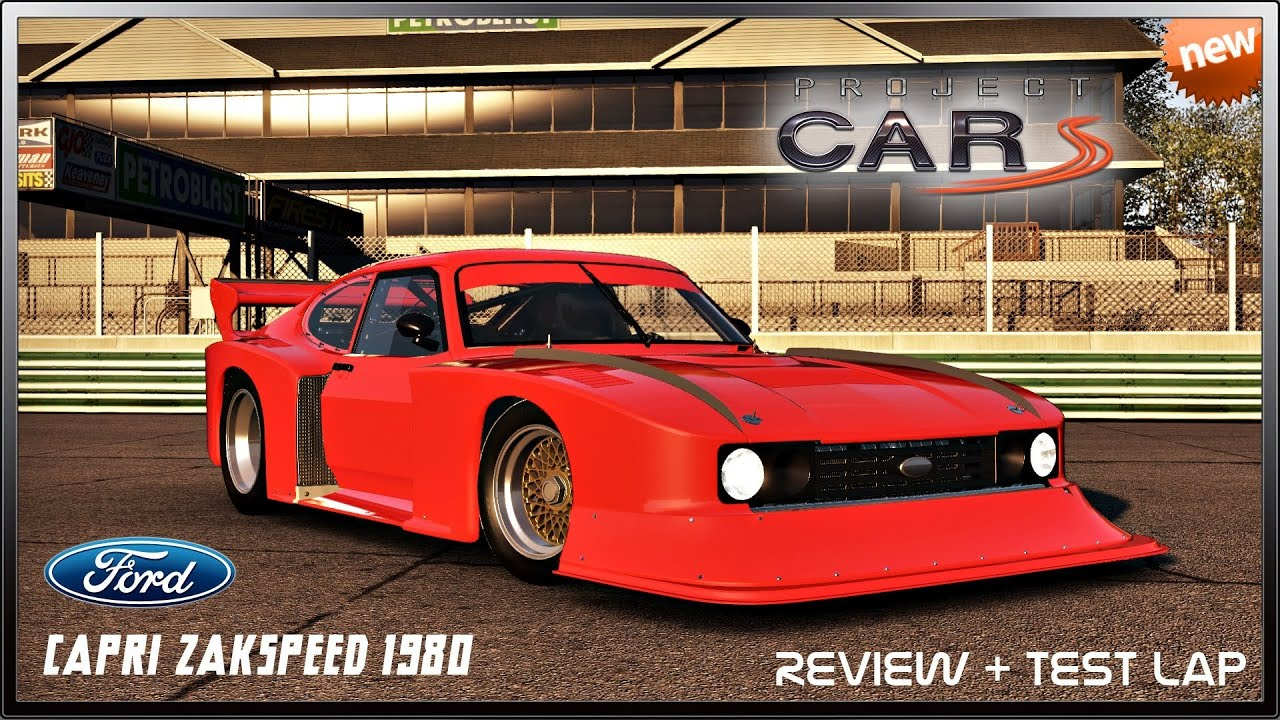 project cars new ford capri zakspeed 1980 review test. Black Bedroom Furniture Sets. Home Design Ideas