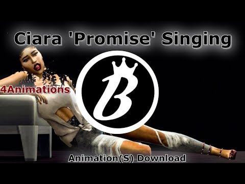 SIMS 4 'Ciara Singing' [Promise] *Animation Pack Download*