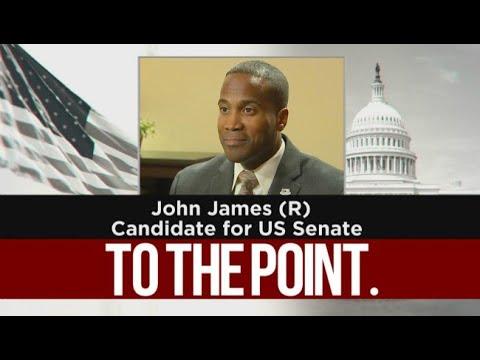 To The Point: U.S. Senate candidate John James