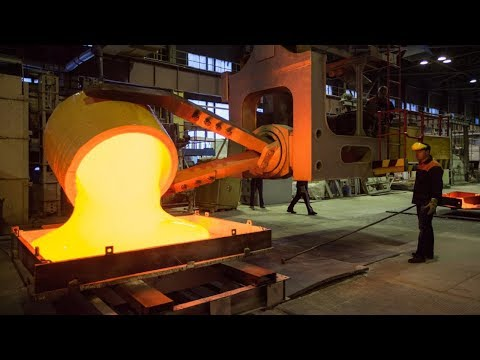 Amazing Automatic Melting Aluminum Manufacturing Factory, Ca