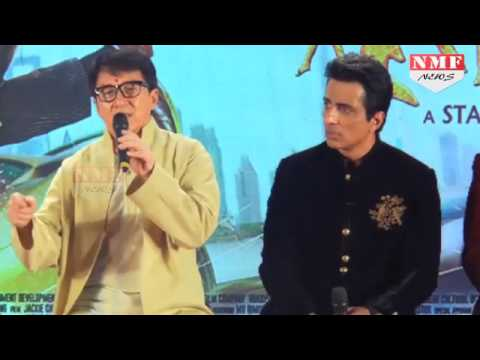 Press Conference Of Movie 'kungfu yoga' | jackie chan,sonu sood,disha patani