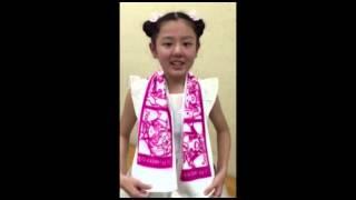 姫っ娘5マフラータオル先行予約受付開始! マラソンタオル 検索動画 16