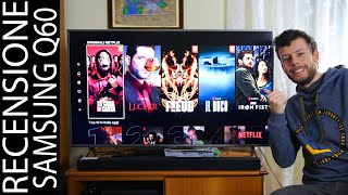 Recensione TV Samsung Q60 (Q64) 4K HDR QLED - Ottima e Meglio dell'OLED?