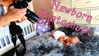 Newborn Photoshoot VLOG #45