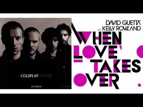 David Guetta ft. K.R. vs. Coldplay - When Love Takes Over vs. Clocks (The Perfect Mashup Mix)