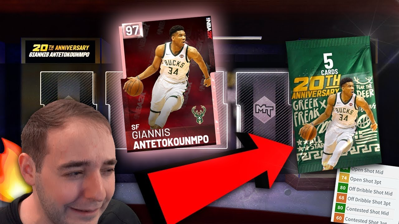 Nba 2k19 My Team Pink Diamond Cover Giannis Are These