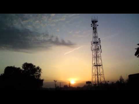 Sun Rise In Canal Town, Peshawar