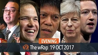 European Union grants, Trillanes meets Rubio, Brexit | Evening wRap