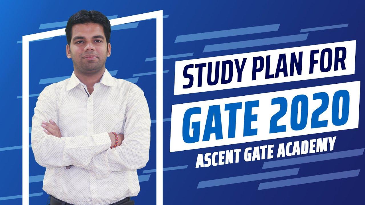 GATE 2020 : STUDY PLAN