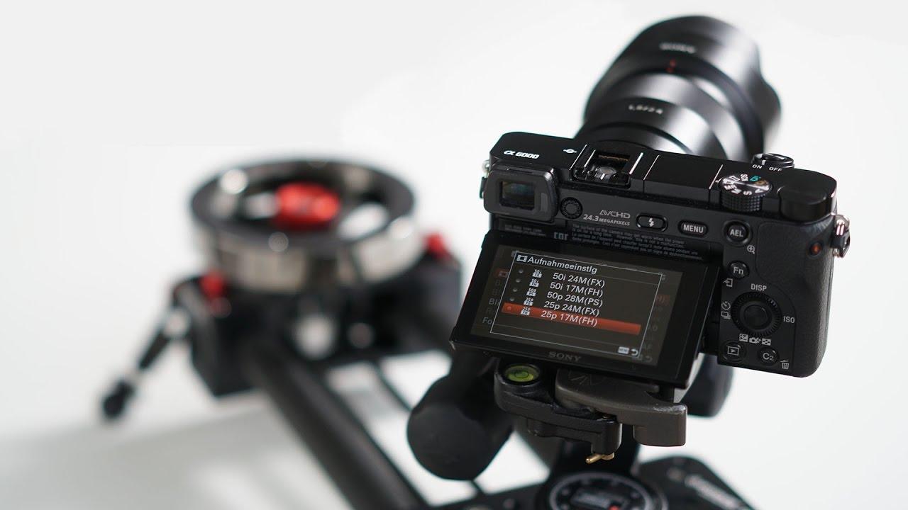 Sony Alpha 6000 VIDEO - Einstellungen für die perfekte ...  Sony Alpha 6000...