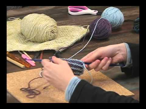 How To Use Double Ended Crochet Hooks Youtube