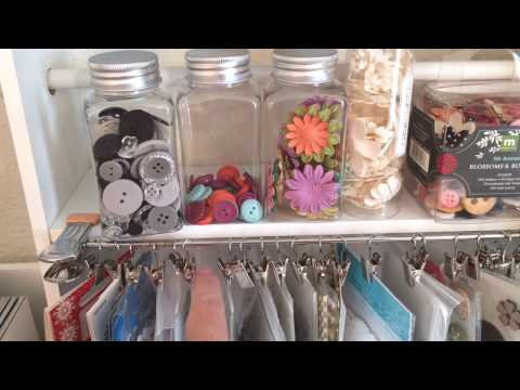 The Crappiest Lil' Craftroom - Tour 2016