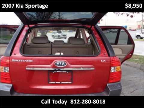 2007 Kia Sportage Used Cars Clarksville IN