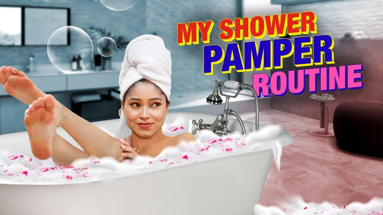 🛀My Shower Routine Full Body Wash Pamper Routine लडकिया नहाते हुए ये जरूर करे दुनिया देखेगी आपकाGlow