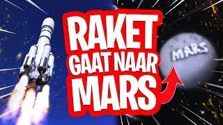 DE RAKET GAAT NAAR MARS!! Fortnite Battle Royale Theorie