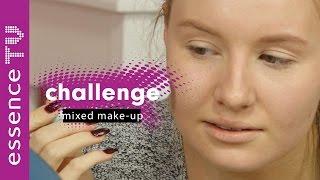 mixed make up challenge deutsch - lippenstift als foundation? l essenceTV