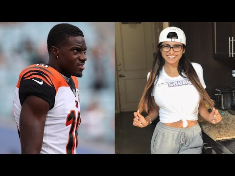 Mia Khalifa takes CHOKEHOLD from AJ Green PERSONALLY!