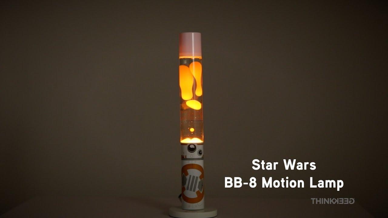 star wars bb 8 motion lamp from thinkgeek youtube. Black Bedroom Furniture Sets. Home Design Ideas