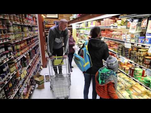 Grocery Shopping with Mason Plumlee