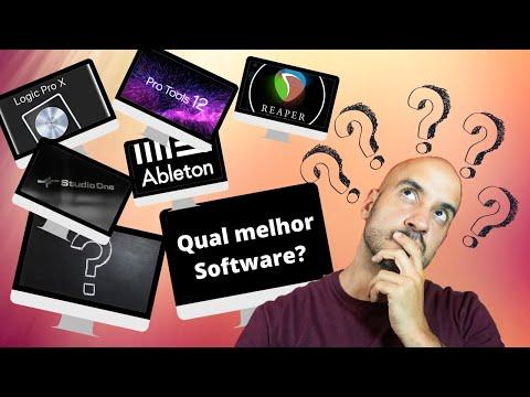 Qual o Melhor Software? PRO TOOLS - LOGIC PRO X - REAPER