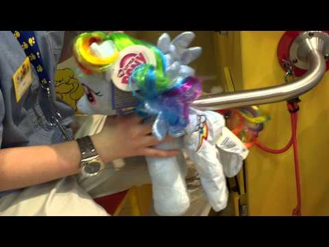 My Little Pony Plushies Made In Build A Bear Workshop In Plymouth, England