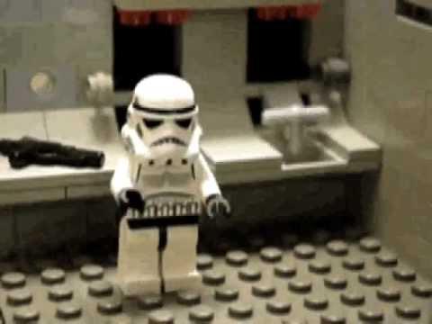 Lego Star Wars Bathroom - YouTube