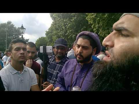 "Hyde park Muslim vs Quranist ""Are you better then Bukhari?"""