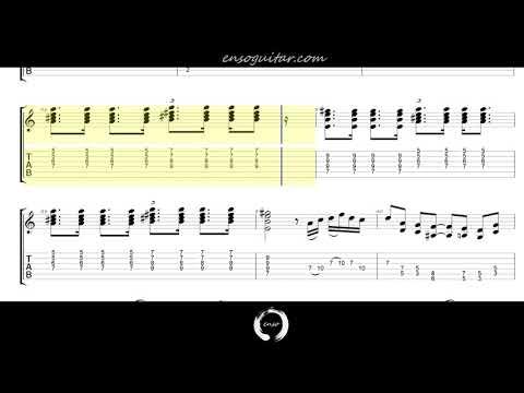 Eric Clapton - Layla {Guitar Tab Play Through}