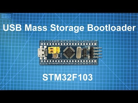 STM32 USB Mass Storage Bootloader