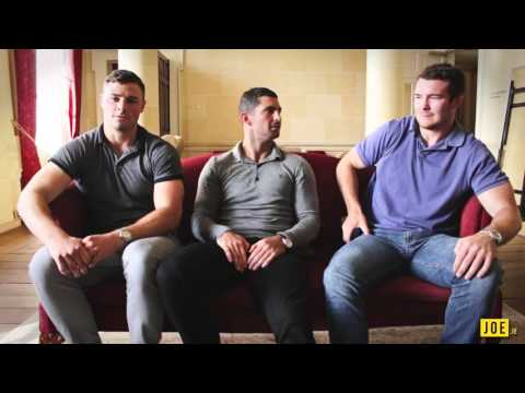 JOE's Tombola of Truth - Rob Kearney, Robbie Henshaw and Peter O'Mahony