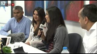 Bollywood Singer Harshdeep Kaur at Leicester Press Conference