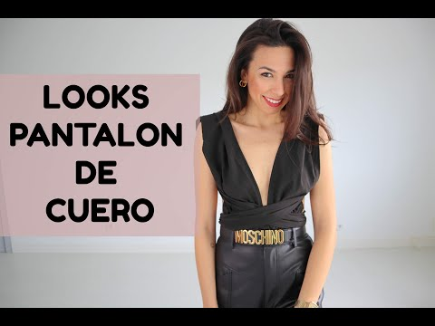 8 LOOKS CON PANTALON DE CUERO - Inspiración l jur jur