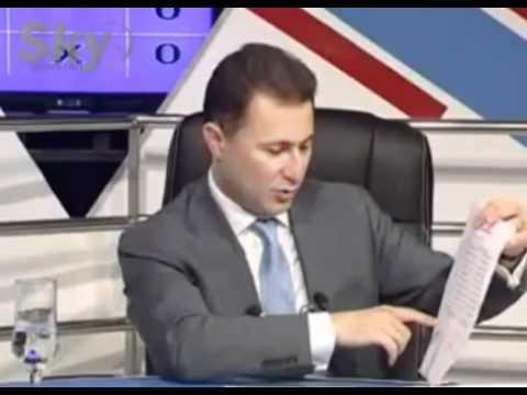 Matematikata na Nikola Gruevski 363 + 208 = 700