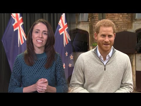 Jacinda Ardern announces New Zealand's gift to royal baby