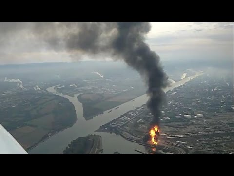 Fire engulfs German factory of world's largest chemicals producer BASF, 4 injured