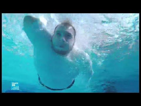 مدرسة تعليم السباحة في غزة تفتح أبوابها لذوي الاحتياجات الخاصة  - 09:55-2019 / 10 / 11